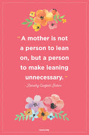 Mother Lean On